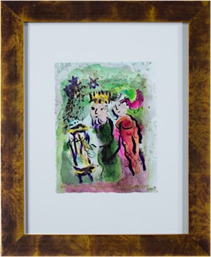Famous Artist Series: Homage to Marc Chagall: Carte De Voeux, 2009