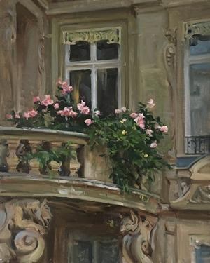 Rose Balcony by Kyle Ma