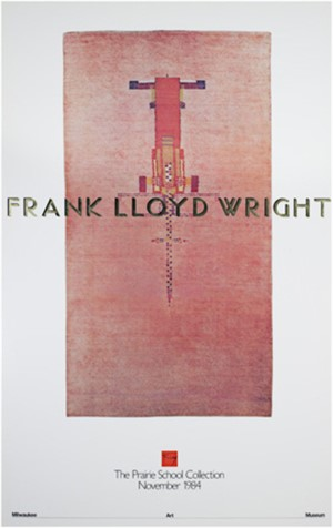 The Prairie School Collection-Rug by Frank Lloyd Wright