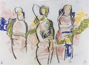 Figure Drawing #17, 2018