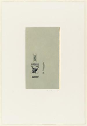 Gauloises Bleues (Raw Umber Edge) (1/38), 1971