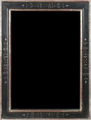 12K WHITE GOLD LEAF HANDMADE PHOTO FRAME 5x7(Vertical -or- Horizontal), 2011