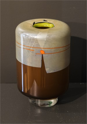 Enso Cylinder Drum Small Brown (coffee) 1