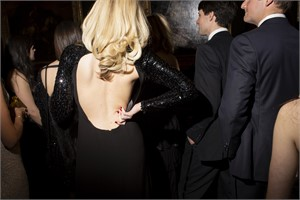 Contemplation (at the Frick Young Fellows Ball) (1/10), 2014