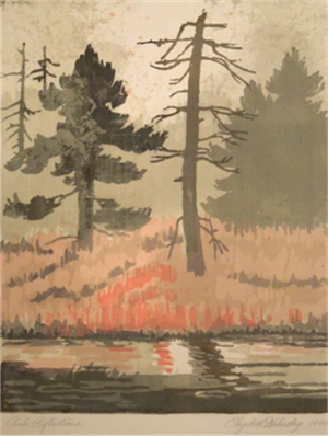 Pink Reflections, 1946