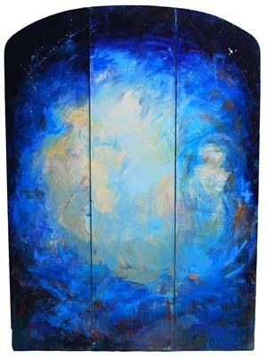 Blue Triptych, 2016