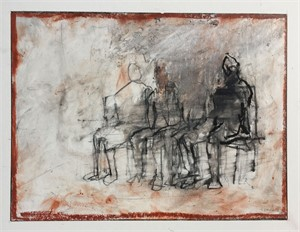 # 9 Seated Figures by Thaddeus Radell