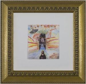 Famous Artist Series:  Leonardo & Rodin Dreaming of Jona Lisa, 2008
