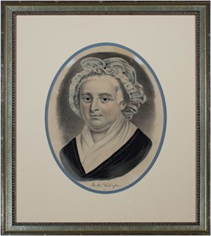 Martha Washington Includes George Washington (Inv#8848g), c. 1870's