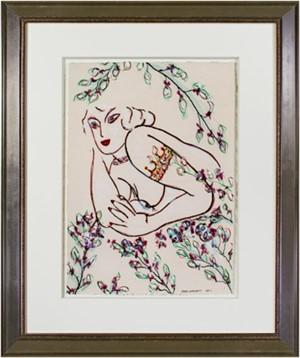 Famous Artist Series:  Tattooed Matisse Model Variation III, 2012