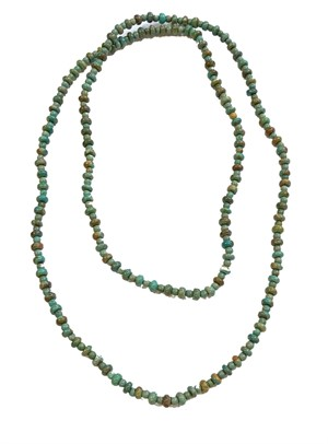 "Necklace - 36"" Turquoise Beads"