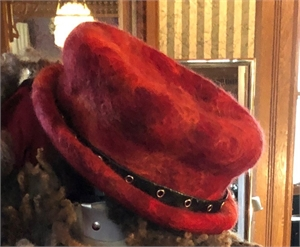 "Little Red Wolf Hat""S/M"""