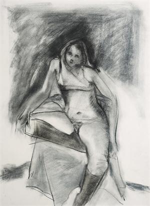 Seated Model with Boots