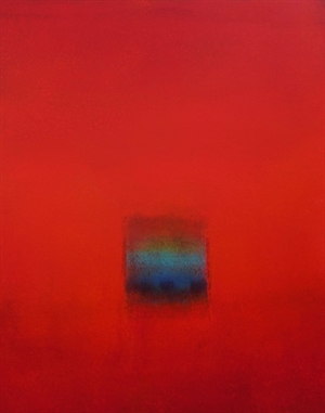 Color Field (Red) by Scott Upton