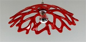 Red Pendant Light