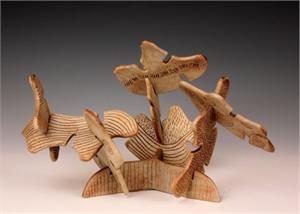 Interactive Sculpture by Larry Halvorsen