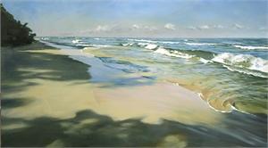 Suspended Sand by Rein Vanderhill