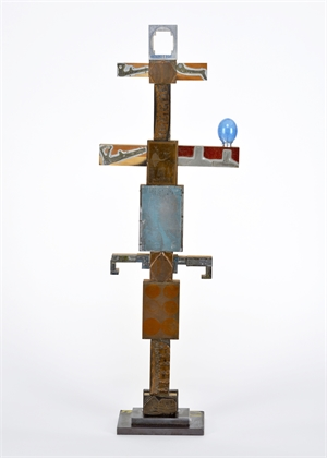 Totem with Blue Sun