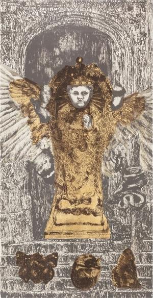 Alchemical Doors for C.A. Meier III (The Golden Child), 1992