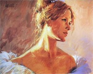 Face of a Ballerina (0/50), 2001