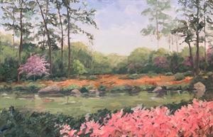 Japanese Garden, Hermann Park, 2019