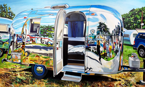 Airstream Self-Reflection, Lynden, WA