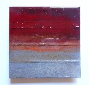 Small Metal Tile #74, 2018