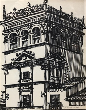 Palace at Salamanca