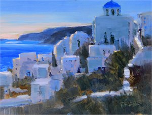 Evenings on Santorini