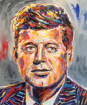 Presidentail Portrait Series: Kennedy , 2016