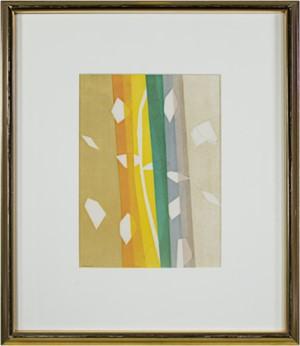 Pour Daniel-Henry Kahnweiler - Falling Leaves (71/200), 1964