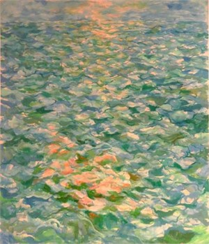 Seascape with Pink Reflections, 1981