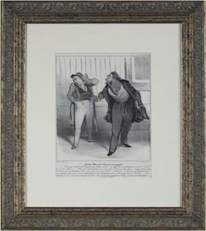 Robert Macaire Commis Voyageur, 1836