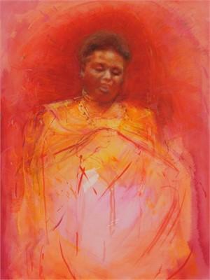 Sacred Hearth (Agnes Pareiyo, Narok, Kenya), 2008