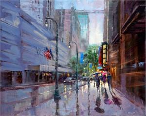 Peachtree Street Rain, 2018