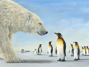 Meeting on the Ice (Artist Proof) (1/2), 2019