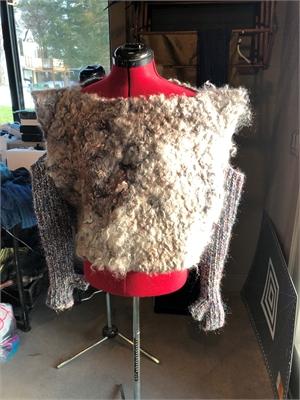 "Deconstructed ""Fur"" Jacket, 2019"