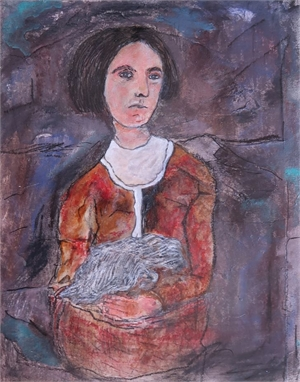 Martha During the War or Susan Turner with Cat or Gwen John
