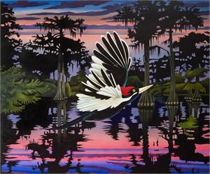 Ivory-Billed Woodpecker, Ghost of Caddo  , 2018