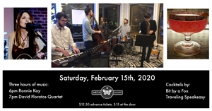 Jazz in Mac, February 15th, 2020 6pm to 9pm