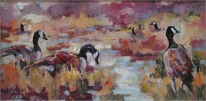 Bosque Rhythms (Geese)