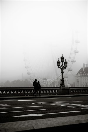 london eye & fog, 2017