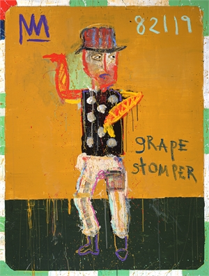 Grape Stomper with Purple Go-Go Boots, 2019