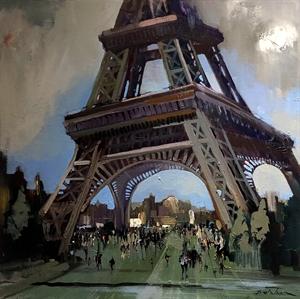 La Tour Eiffel by Dirk Walker