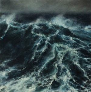 Stormy Seascape, 2017