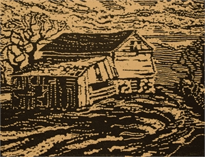 Barn on the Hill, 1922