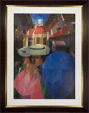 Cubistic Cityscape, 1981
