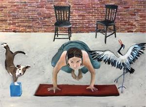 Yoga with Crane