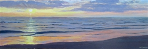 Morning on the Beach by George Netherton