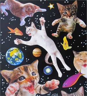 Space Cats #2, 2018